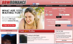 bbwromance min 300x183 - Reviews of the Top 10 BBW Dating Sites 2020