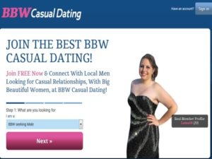bbw casual dating