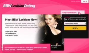 bbw lesbian dating