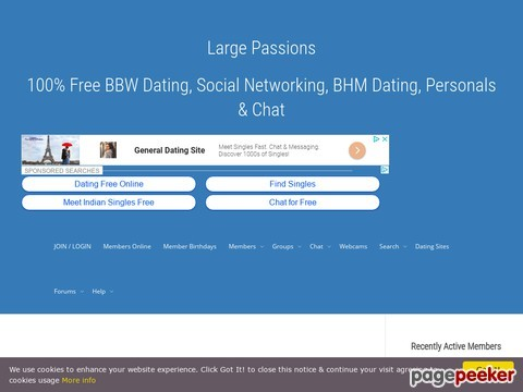 largepassions.com  - Large Passions: An In-Depth Review of Adult BBW Dating Website